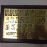 Gravírování plaket - MIHAL s.r.o. Velká Biteš u Brna